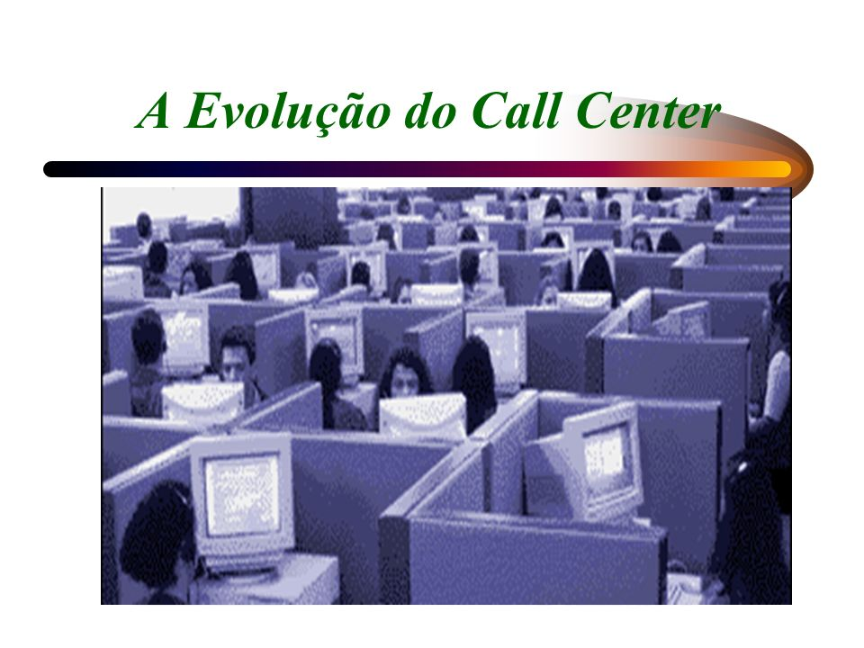 A Evolução do Call Center