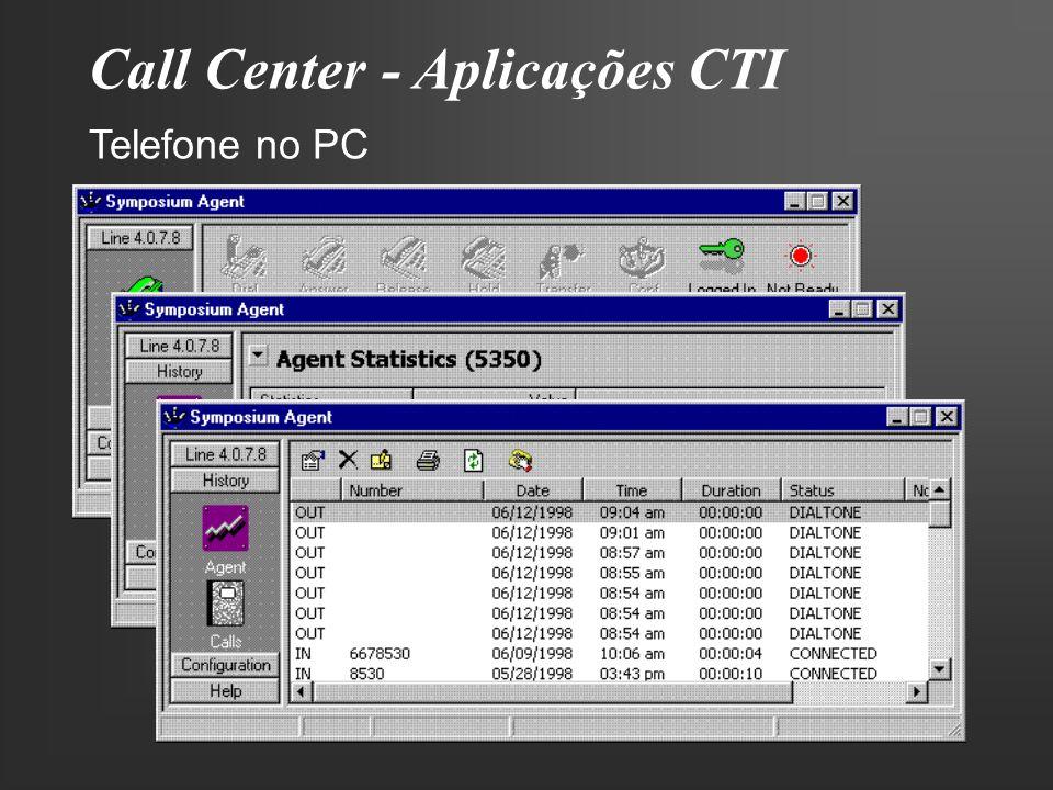 Call Center - Aplicações CTI