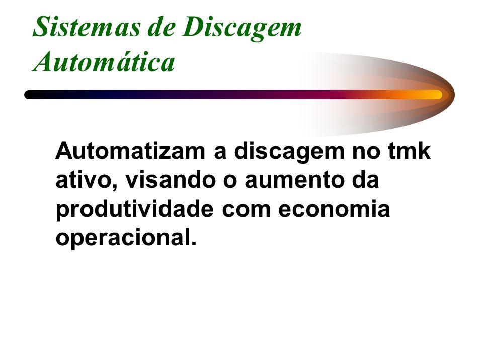 Sistemas de Discagem Automática