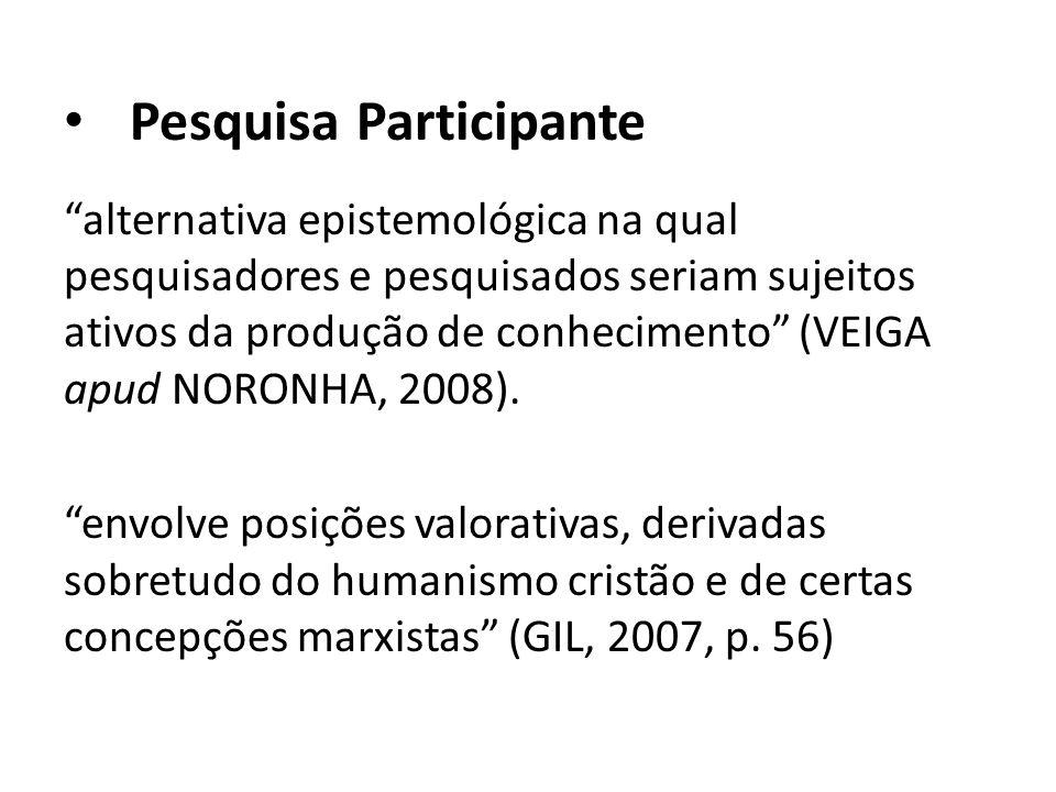 Pesquisa Participante