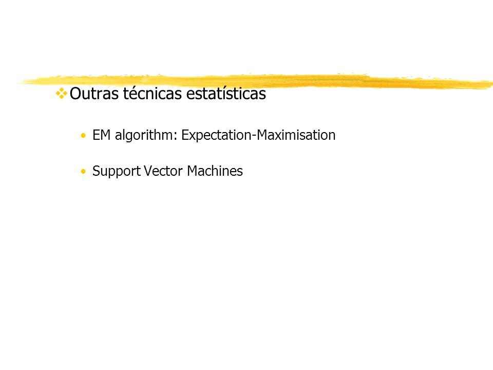 Outras técnicas estatísticas