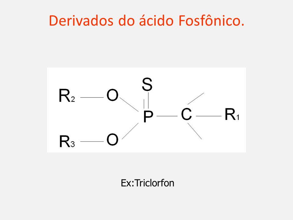 Derivados do ácido Fosfônico.