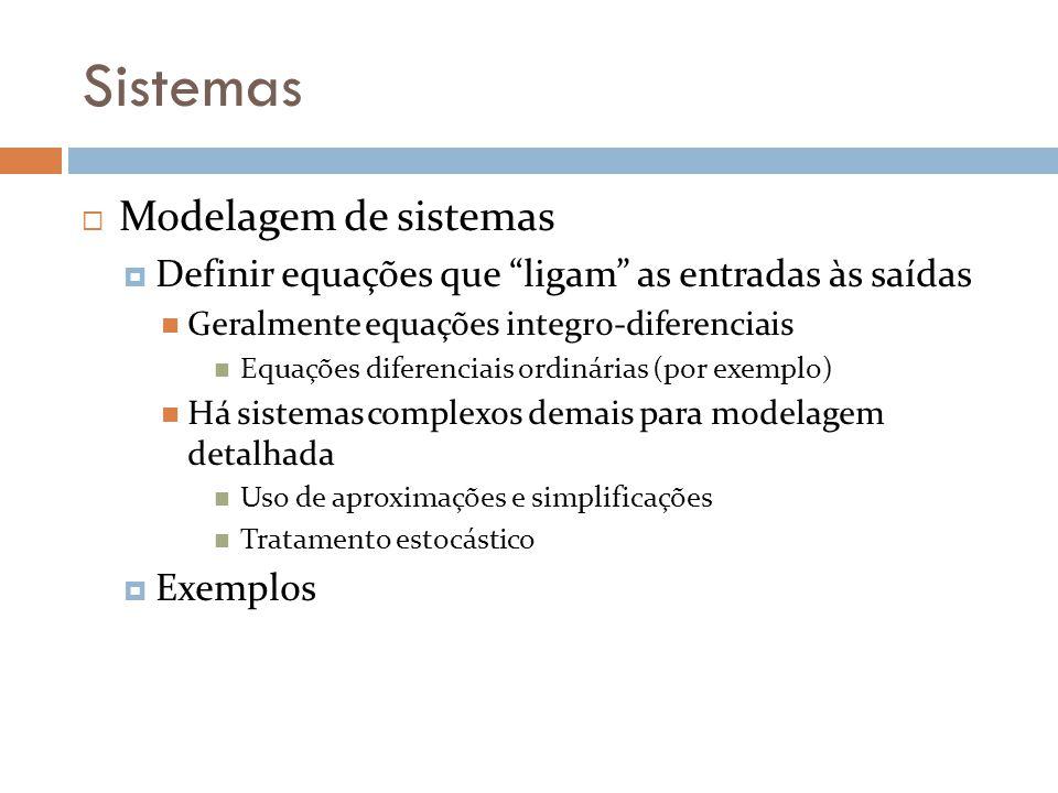 Sistemas Modelagem de sistemas