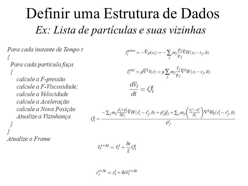 Definir uma Estrutura de Dados