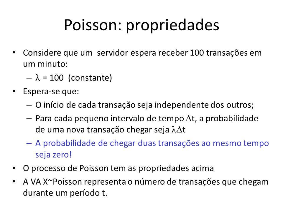 Poisson: propriedades