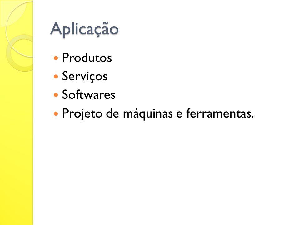 Aplicação Produtos Serviços Softwares