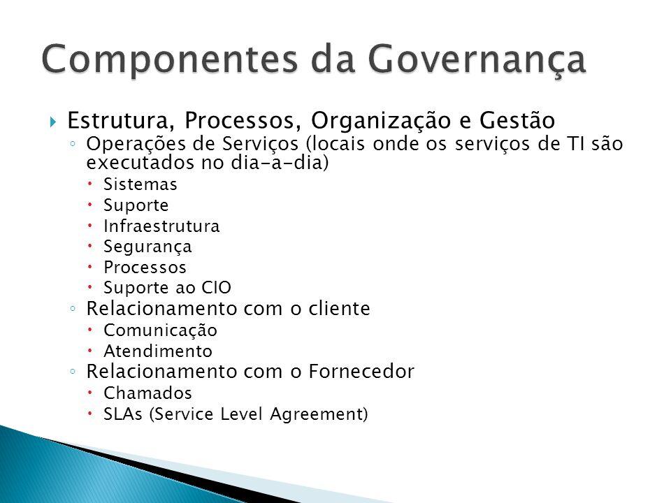 Componentes da Governança