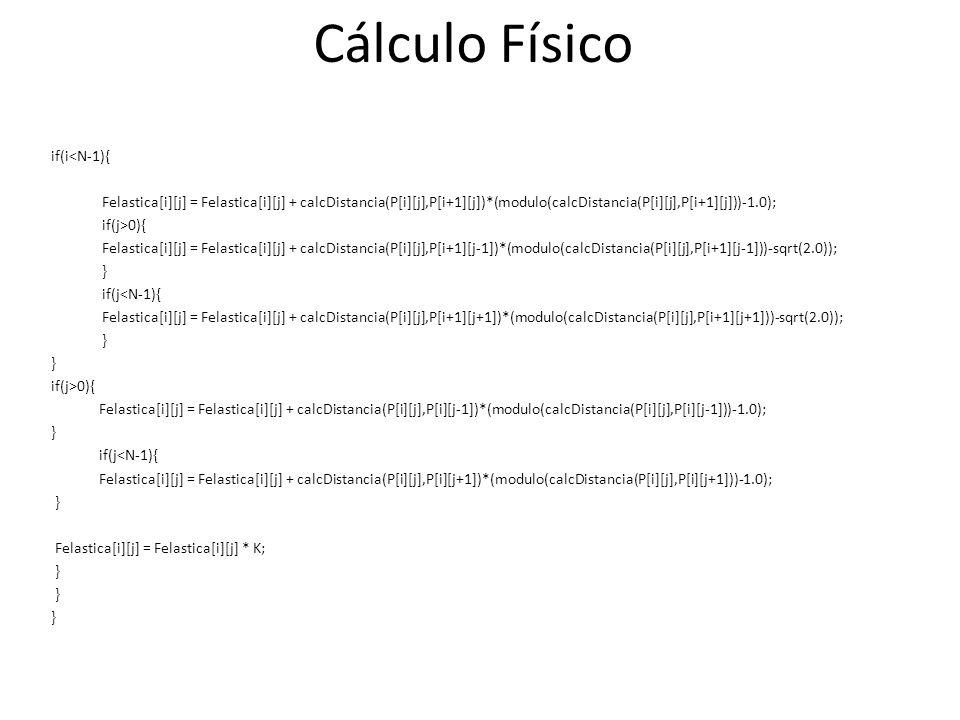 Cálculo Físico if(i<N-1){