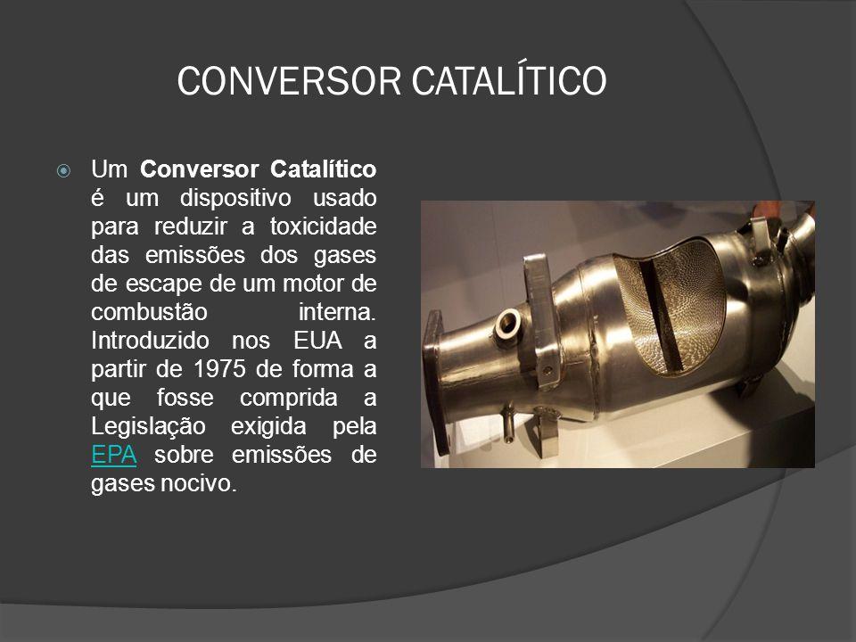 CONVERSOR CATALÍTICO