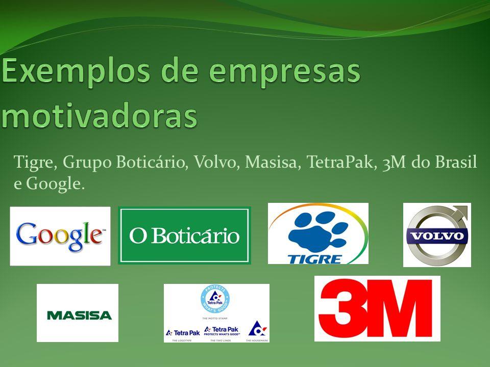 Exemplos de empresas motivadoras
