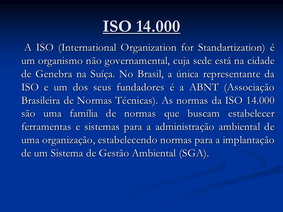 ISO 14.000