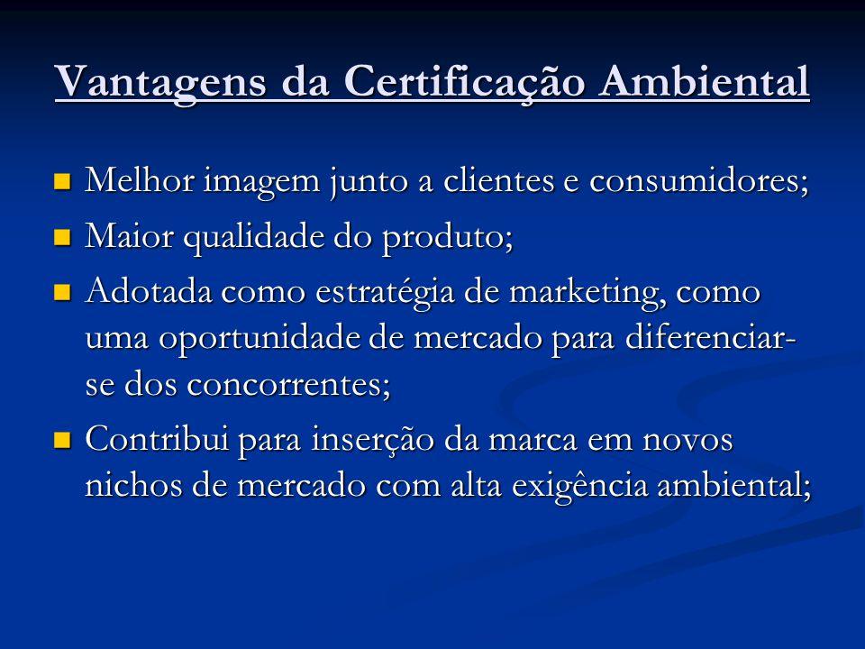 Vantagens da Certificação Ambiental