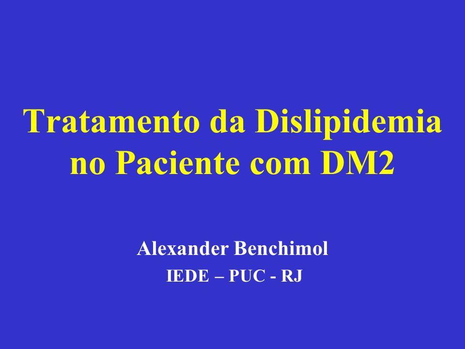 Tratamento da Dislipidemia no Paciente com DM2