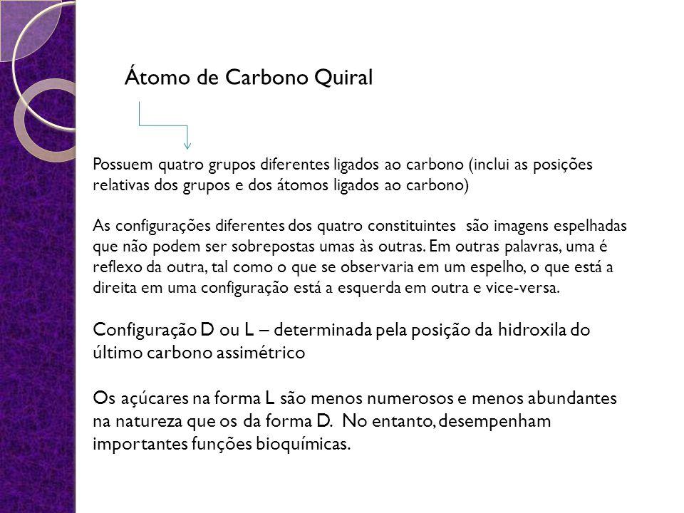 Átomo de Carbono Quiral