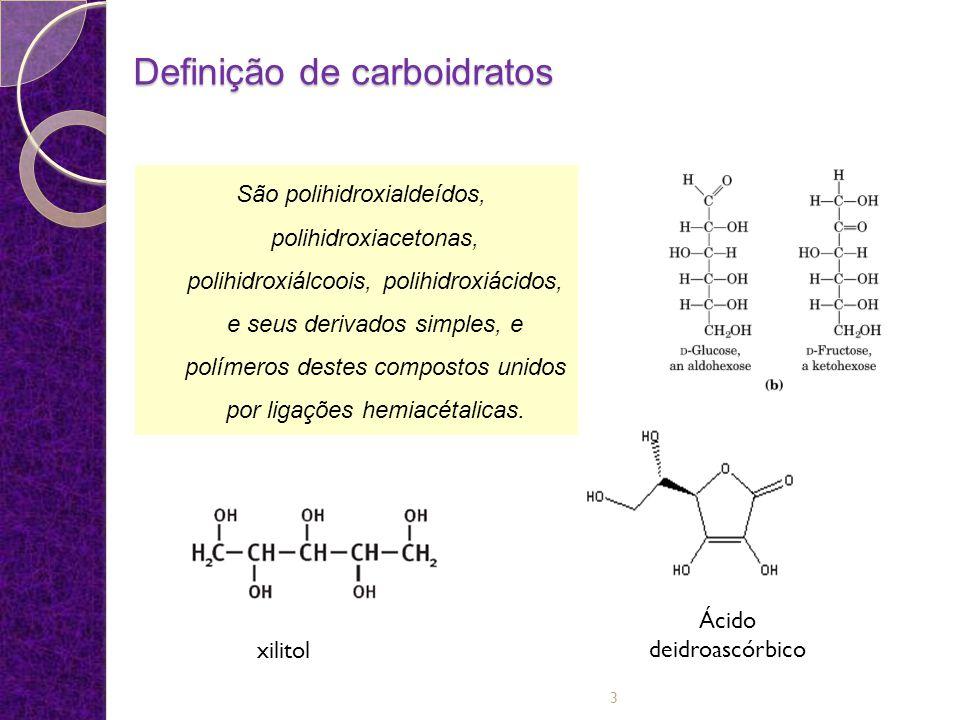 Definição de carboidratos