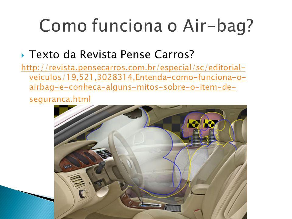 Como funciona o Air-bag