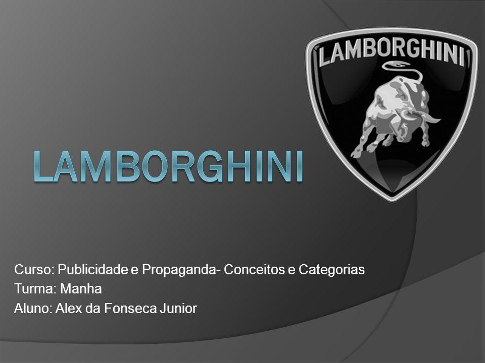 Lamborghini Curso: Publicidade e Propaganda- Conceitos e Categorias