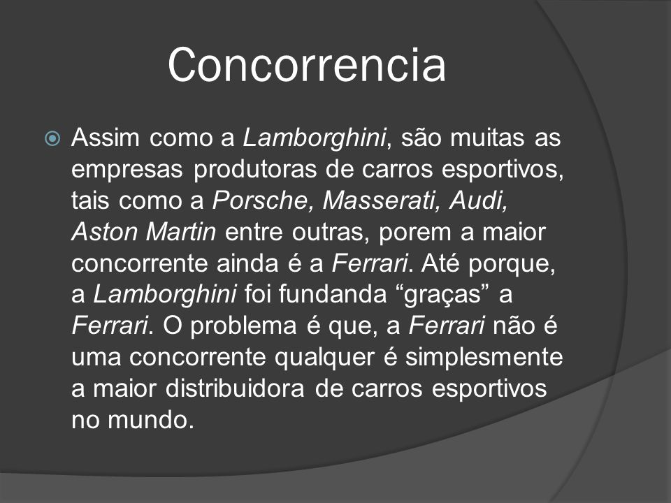 Concorrencia