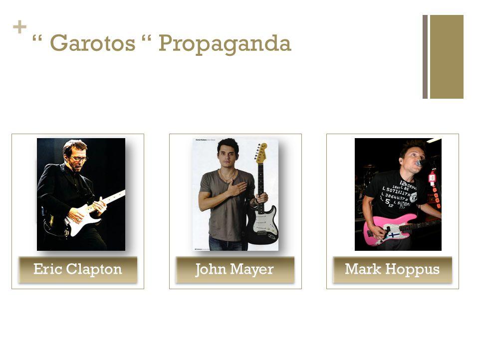Garotos Propaganda Eric Clapton John Mayer Mark Hoppus