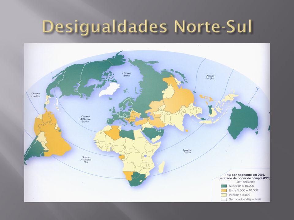 Desigualdades Norte-Sul