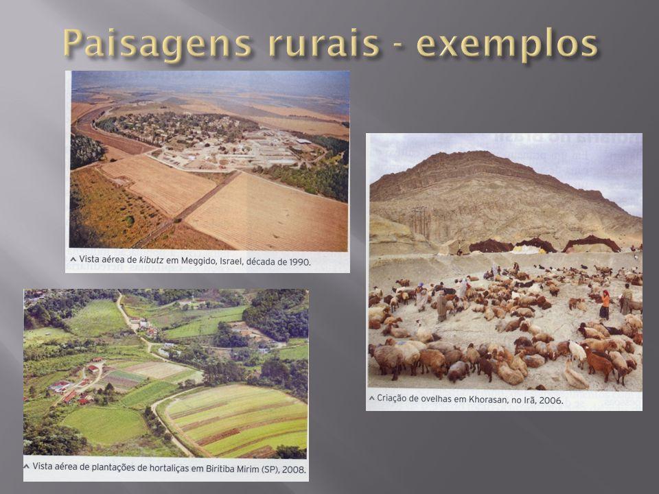 Paisagens rurais - exemplos