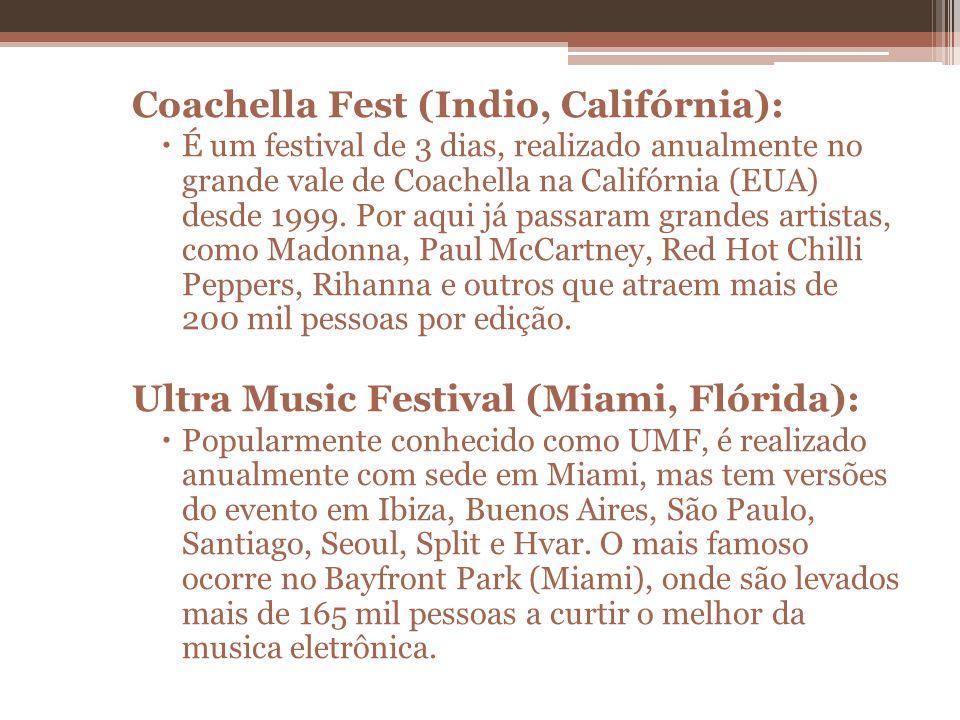 Coachella Fest (Indio, Califórnia):