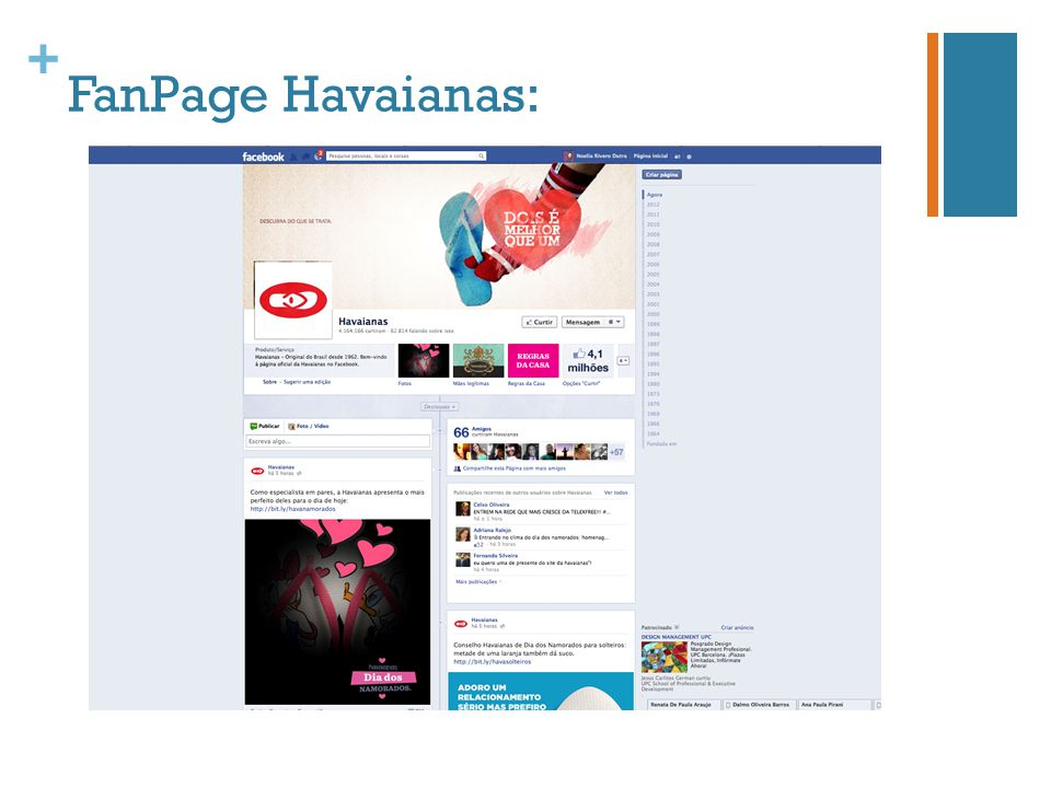 FanPage Havaianas: