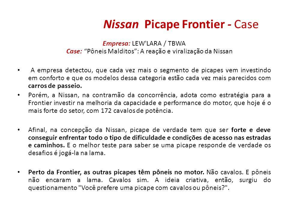 Nissan Picape Frontier - Case