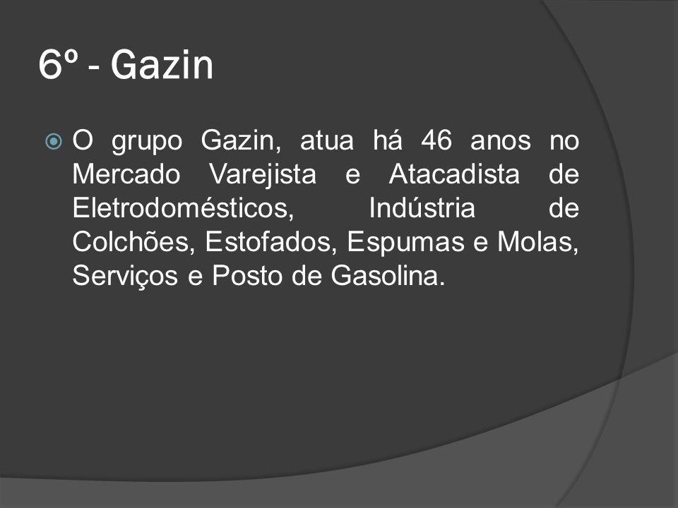 6º - Gazin