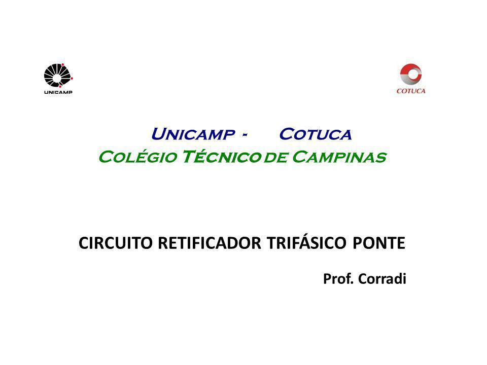 CIRCUITO RETIFICADOR TRIFÁSICO PONTE