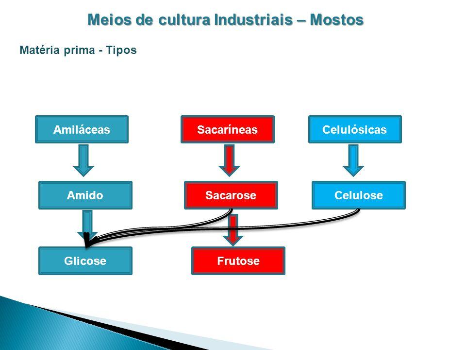 Meios de cultura Industriais – Mostos