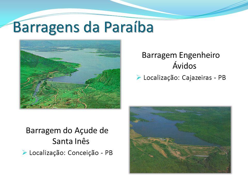 Barragens da Paraíba Barragem Engenheiro Ávidos