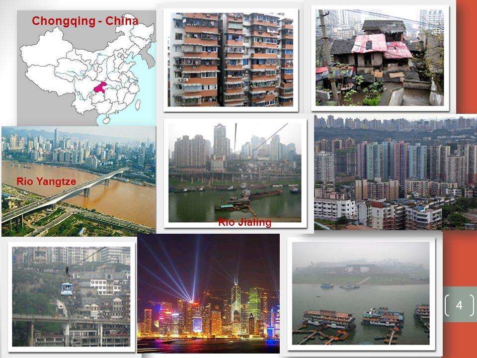 Chongqing - China Rio Yangtze Rio Jialing