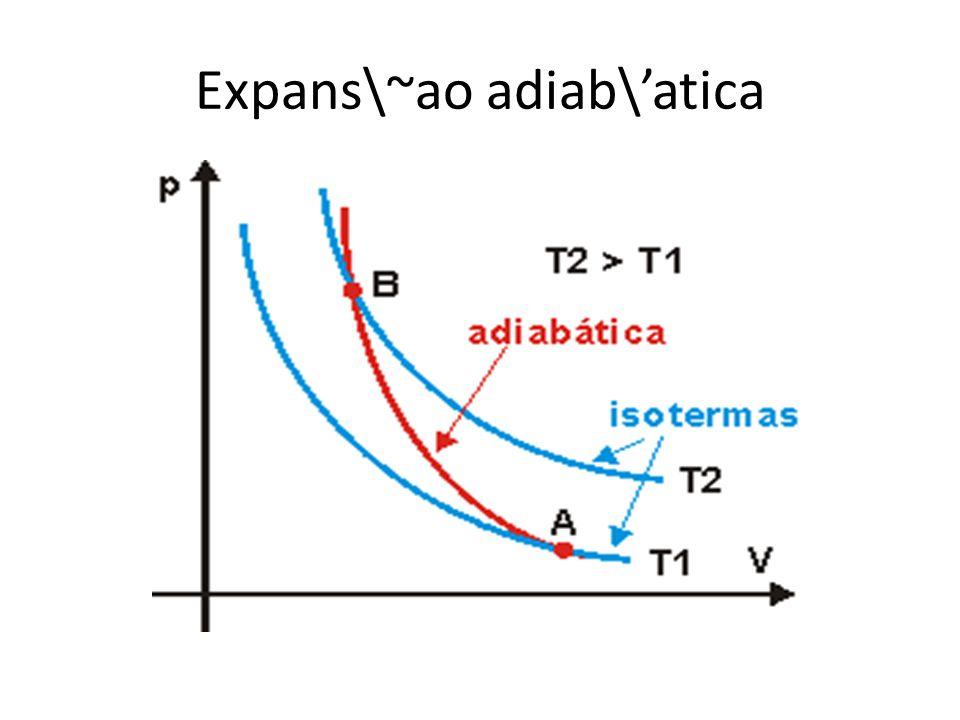 Expans\~ao adiab\'atica