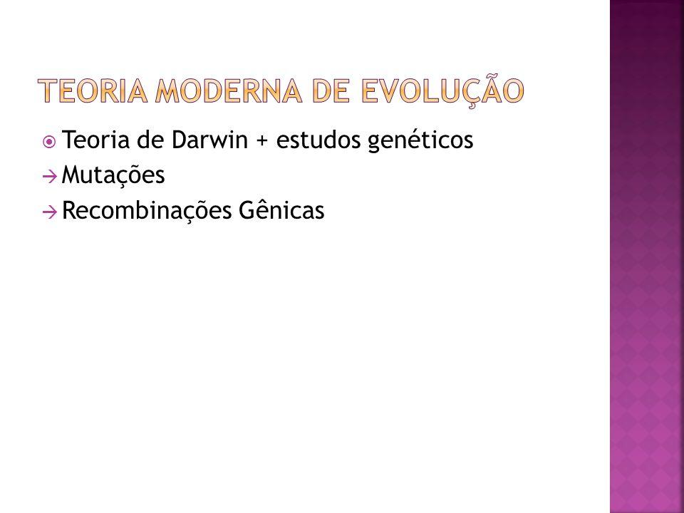 Teoria Moderna de Evolução