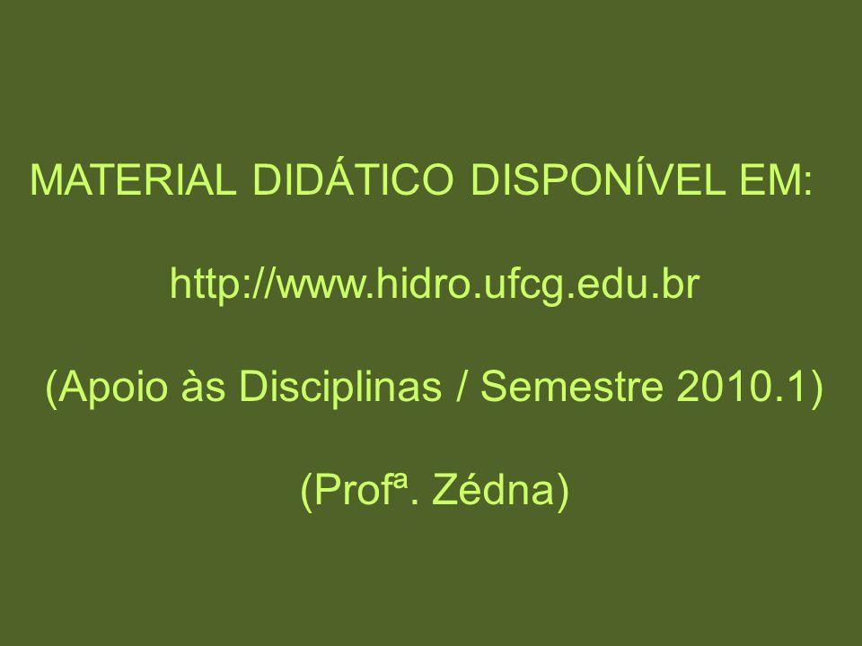 (Apoio às Disciplinas / Semestre 2010.1)