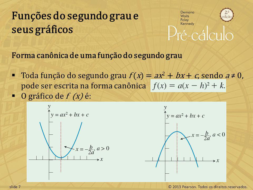 Funções do segundo grau e seus gráficos