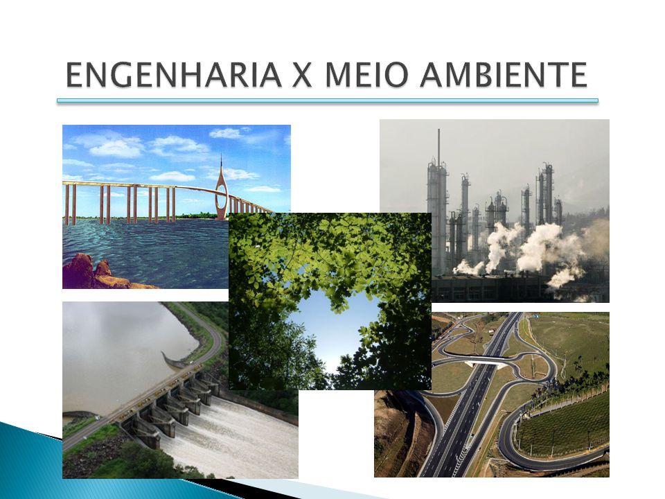 ENGENHARIA X MEIO AMBIENTE