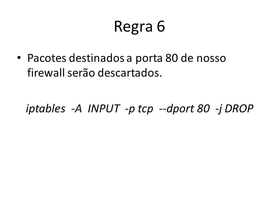 iptables -A INPUT -p tcp --dport 80 -j DROP