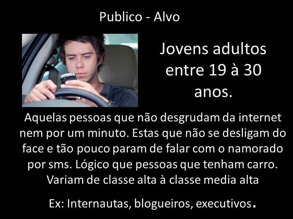 Jovens adultos entre 19 à 30 anos.