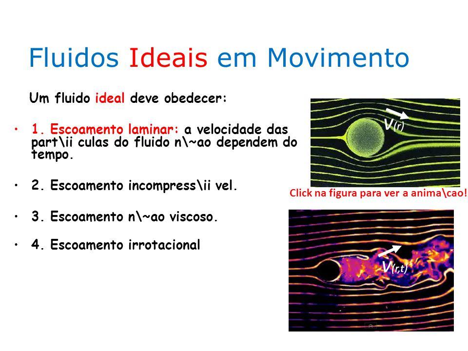 Fluidos Ideais em Movimento