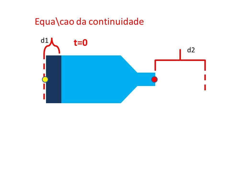 Equa\cao da continuidade