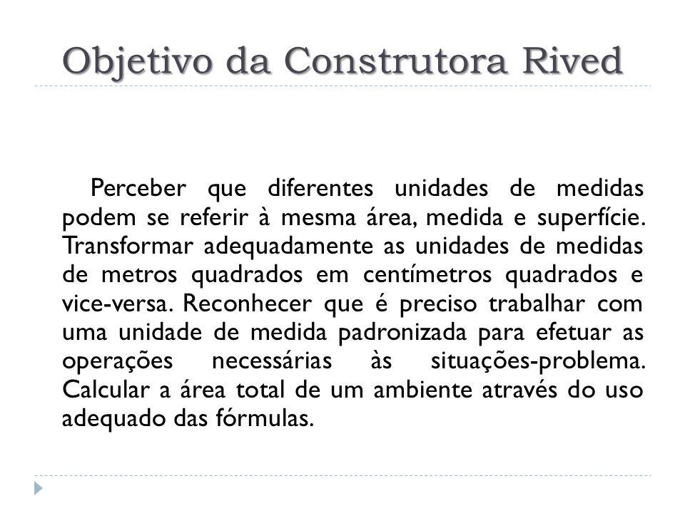 Objetivo da Construtora Rived