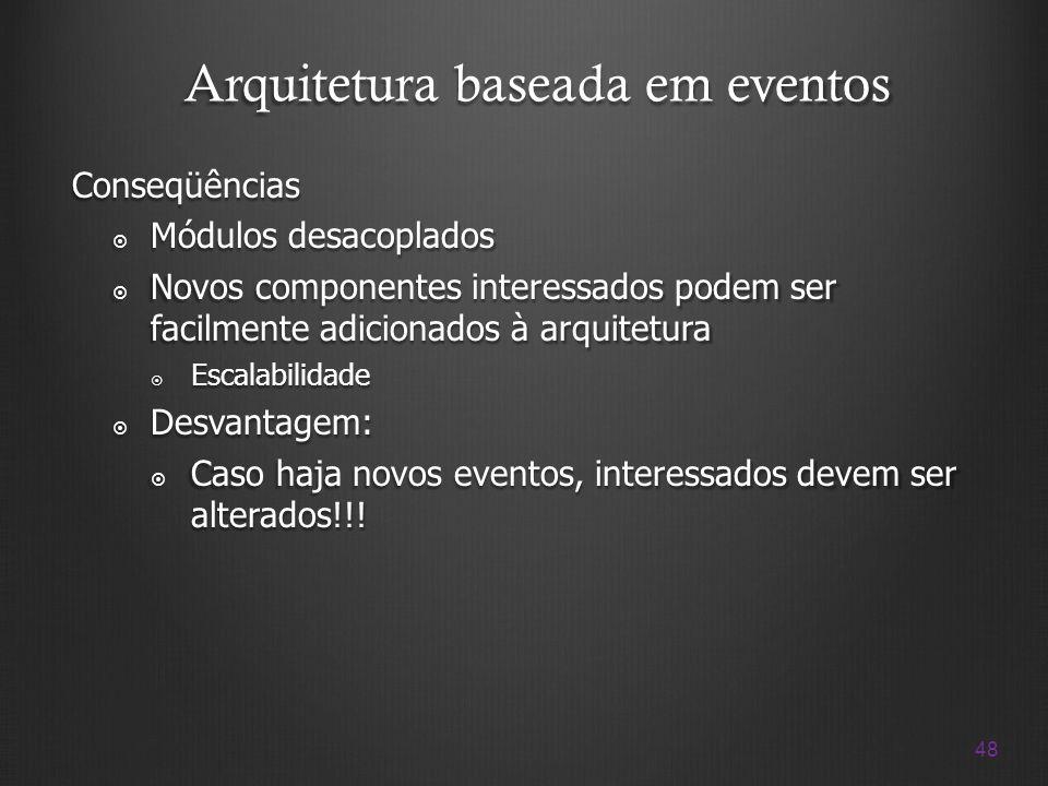 Arquitetura baseada em eventos
