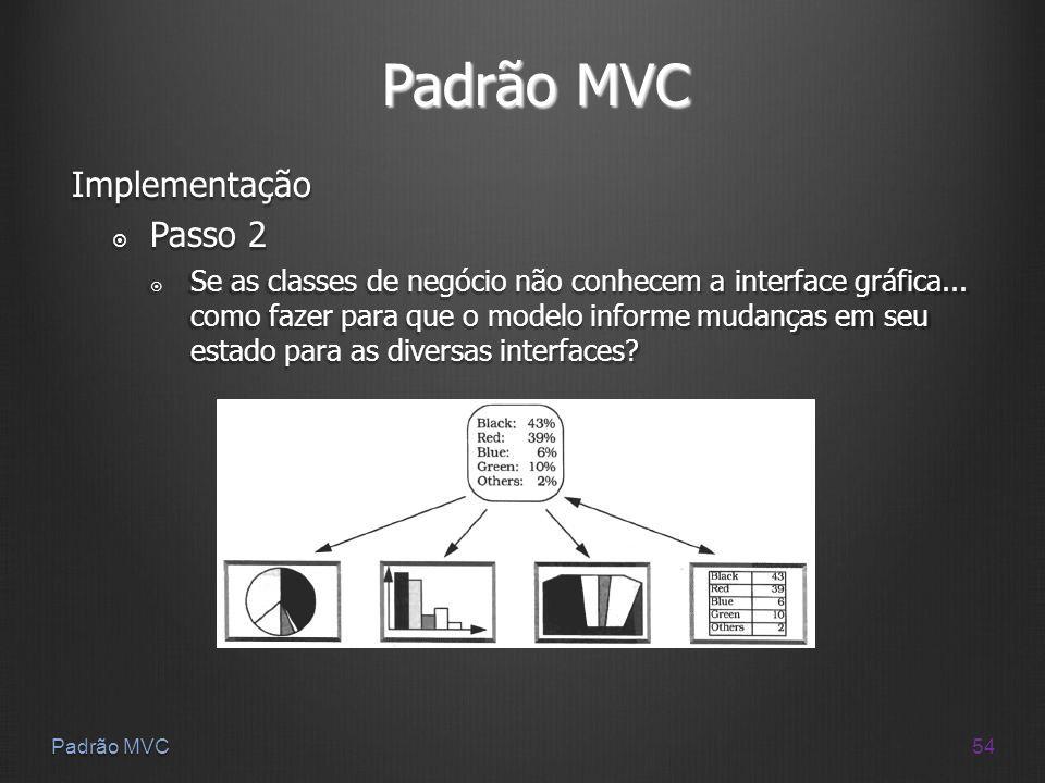 Padrão MVC Implementação Passo 2