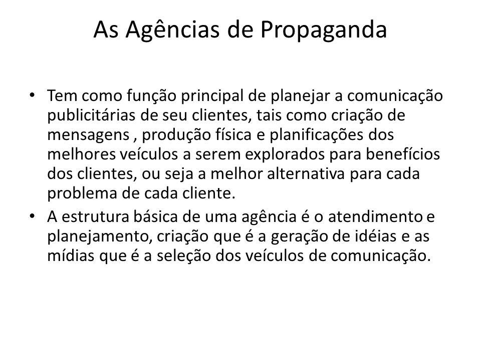As Agências de Propaganda