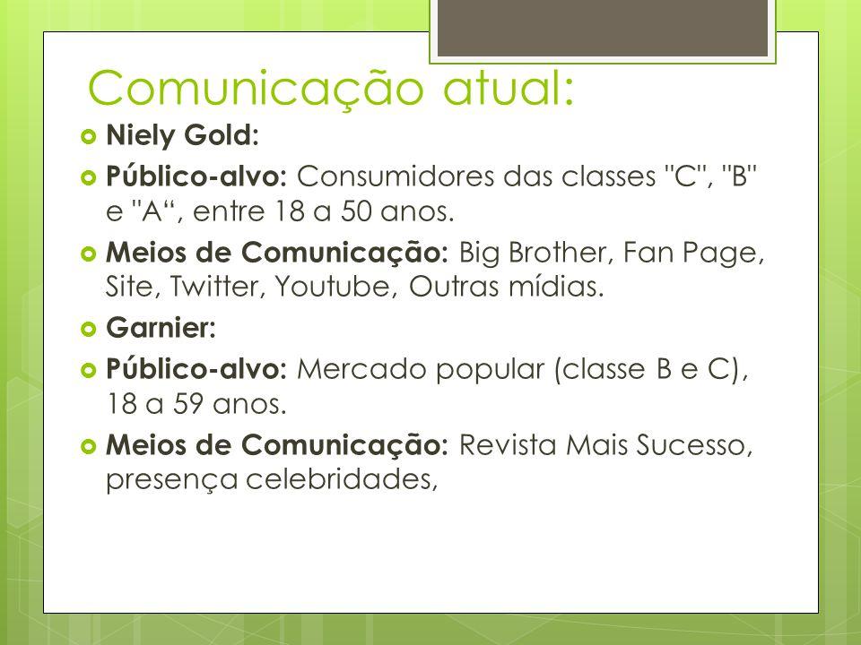 Comunicação atual: Niely Gold: