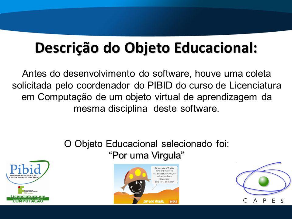 Descrição do Objeto Educacional:
