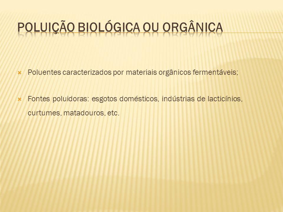 Poluição biológica ou orgânica