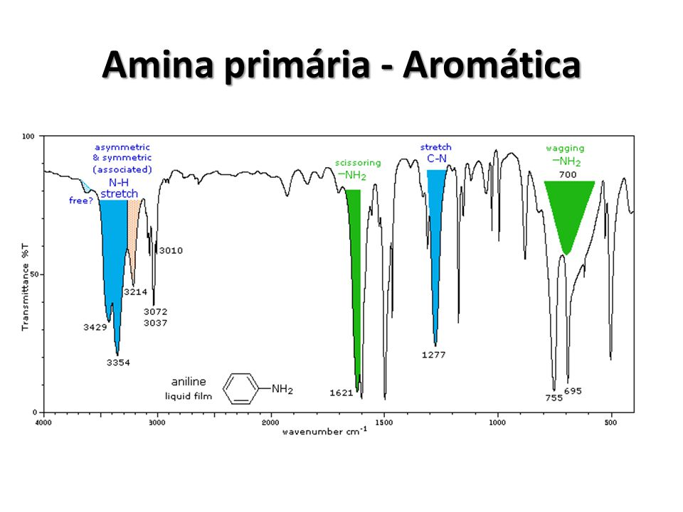 Amina primária - Aromática
